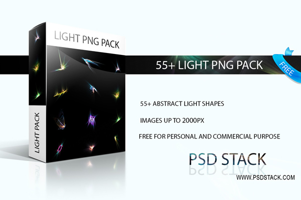 55 Light PNG Stock Pack