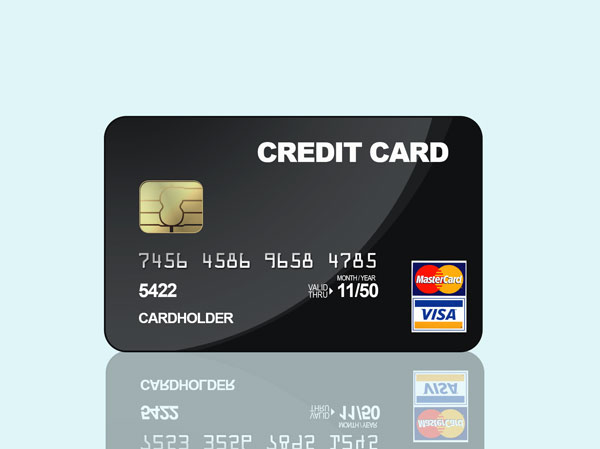 free credit card psd