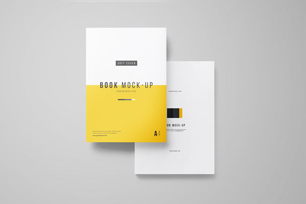 35+ Free Book Mockup PSD Templates for Designers - PSD Stack