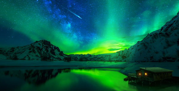 How to Create an Aurora Landscape in Photoshop