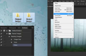 How to Resize Multiple Images Using Photoshop Actions