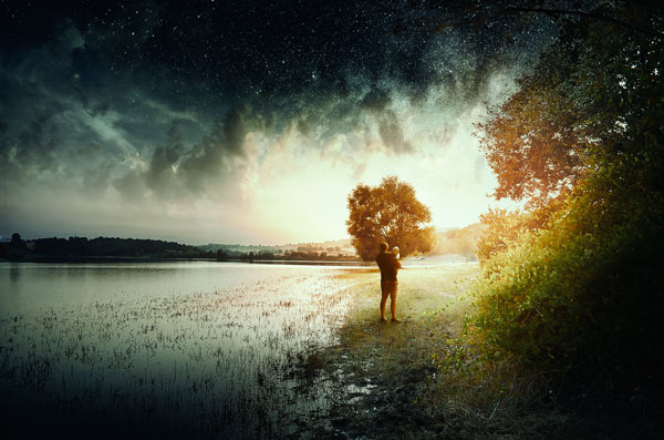 Create a Magical Landscape Scene in Photoshop